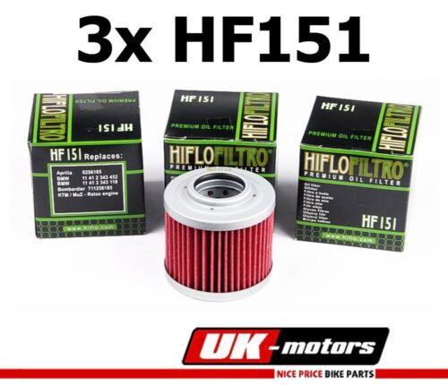 3x Hiflo Ölfilter HF151 MZ//MUZ SM 125  Gangsta