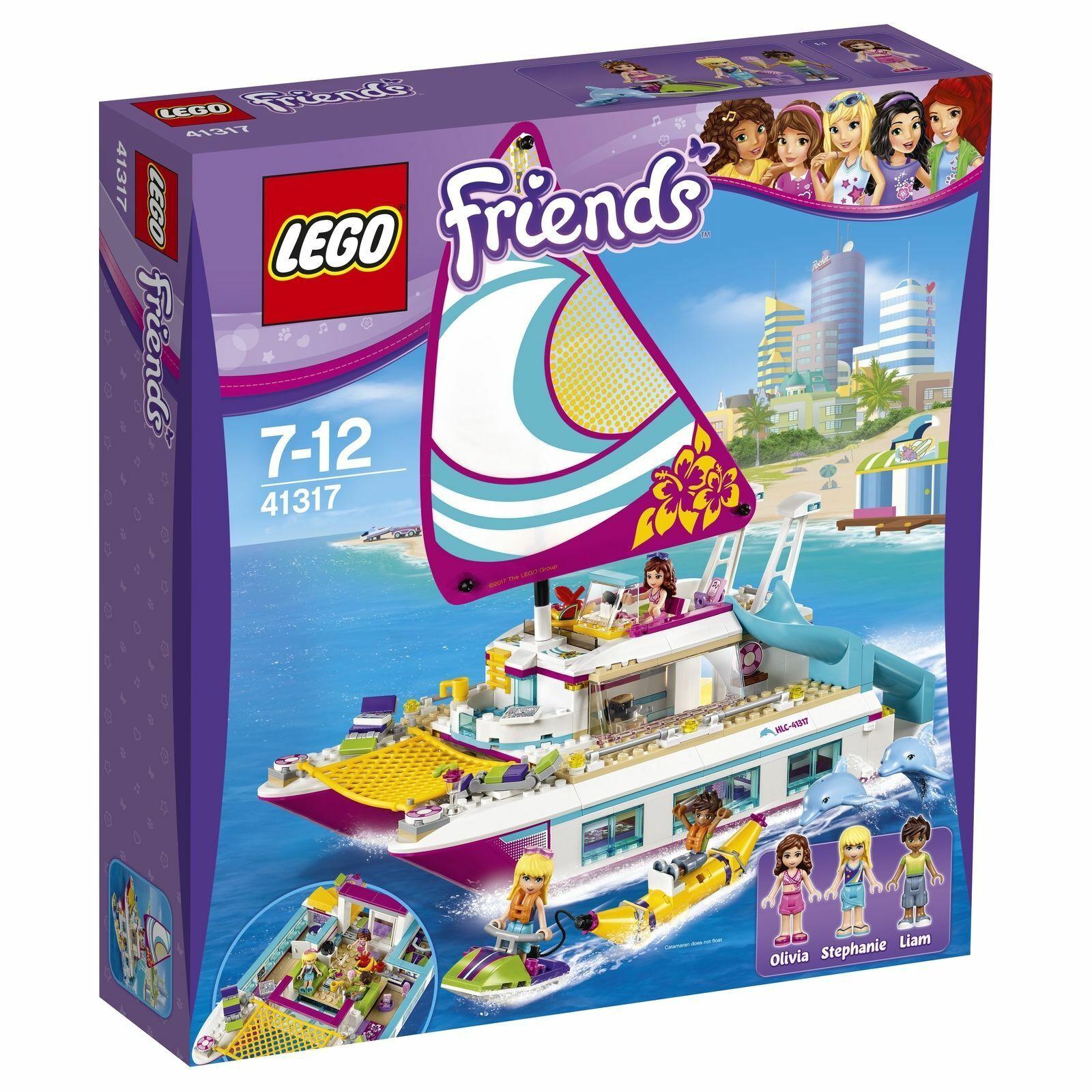 Lego Friends 41317 Sonnenschein-Katamaran - New Sealed