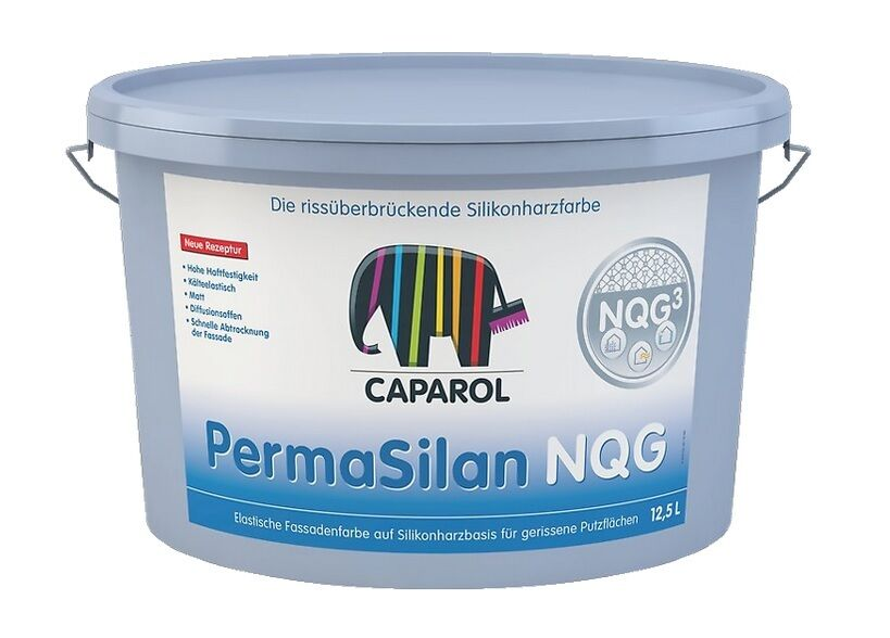 Caparol PermaSilan NQG Fassadenfarbe 12,5 Liter - elastisch,diffusionsoffen -