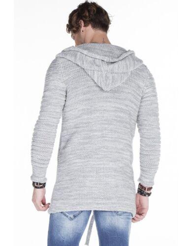 in cappuccio con 151 lana Baxx a maglia Xl S a Cipo da Nuovo M Cappuccio maglia lavorata L grossa uomo Xxl wEpxw