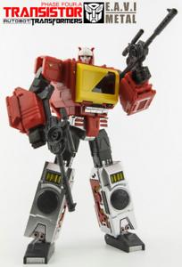 Transformers KFC Toys Masterpiece MP Blaster Transistor Red Reissue ActionFigure