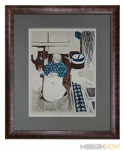 Edouard VUILLARD Limited Edition LITHOGRAPH ~ La Cuisiniere w/Frame Included