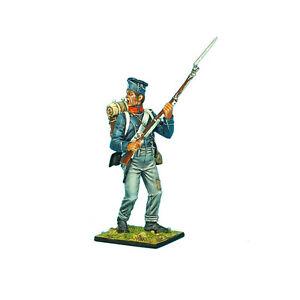 Première légion Nap0374 - 1er chasseur français d'infanterie légère debout criant
