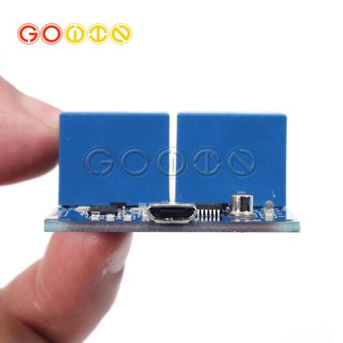 MICRO USB 5V 2-Channel Relay Module USB Control Relay Module Converter