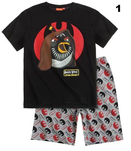 Details about  /Boys CHARACTER Cartoon SHORT Sleeve PYJAMA SET Cotton TOP /& BOTTOMS