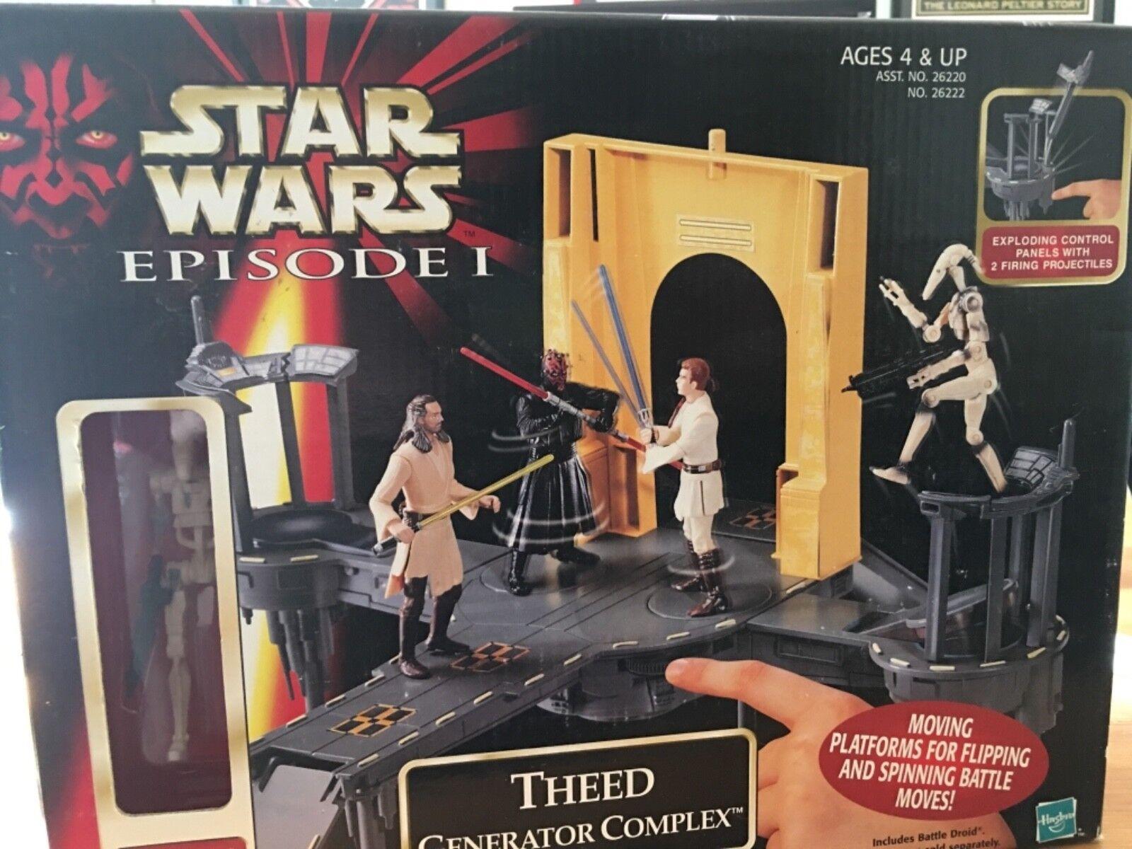 Star Wars Theed Generator Complex