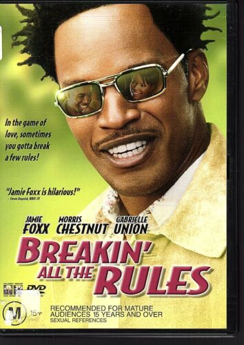 1 of 1 - BREAKIN' ALL THE RULES - DVD R4 - Jamie Foxx - GOOD COND - FREE POST