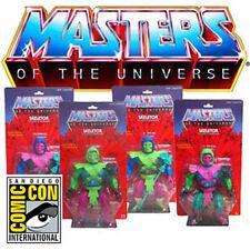 """RARE SDCC Masters of the Universe Super 7 Test Shot SKELETOR 12"""" FIGURE SET OF 4"""