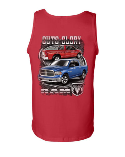 Licensed Dodge Ram Hemi Tank Top Dodge Truck Ram 1500 2500 Muscle Shirt