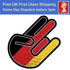Sticker decal tuning jdm hand shocker bomb car moto motorcycle flag germany