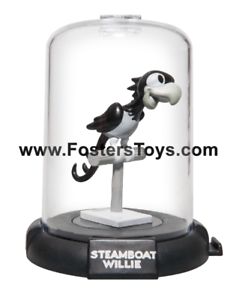"""1x STEAMBOAT WILLIE DISNEY DOMEZ THE PARROT 2/"""" COLLECTIBLE MINI FIGURE"""