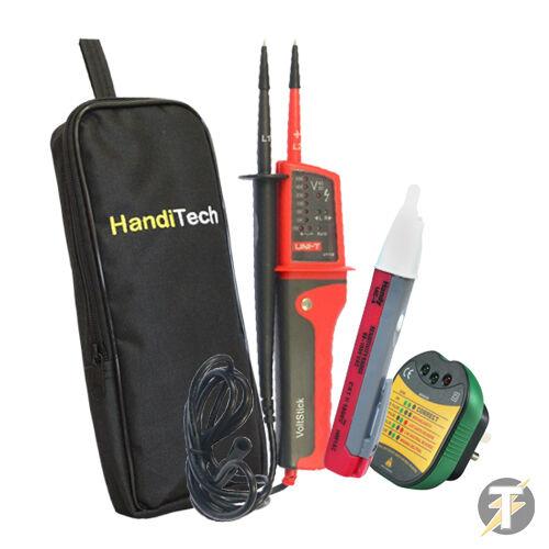 Uni-k-ut15b-k1 Uni-t Ut15b Voltaje Y Continuidad Tester, Socket Tester, Voltstick