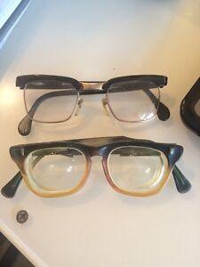 A imagem está carregando oculos-Vintage-Armacao -Wayfarer-Nerd-chique-Par-1950 091d5a6c53