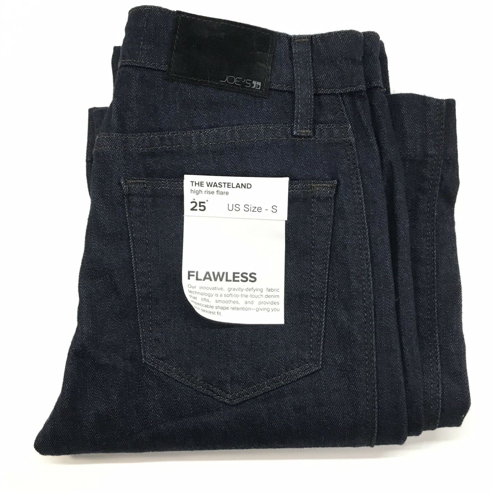 Joe's Jeans Women's Flawless The Wasteland High Rise Flare Size 25x33 NWT  158
