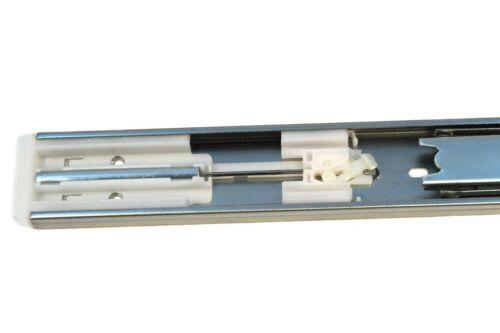 Paar Soft-Close Vollauszug Teleskopschiene Schubladenschiene Schubladenschienen
