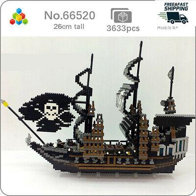 YZ Caribbean Pirate Sailing Ship Mini Diamond Building Nano Blocks Toy 3000pcs