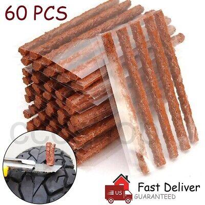 Parches Neumaticos 60Pcs Auto de vulcanização de pneus Reparo Plug Tubeless Selo Patch