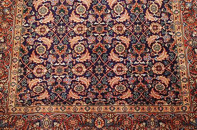 C1930s Antique Highly Detailed Fine Kork Wool Prsian Tabrz
