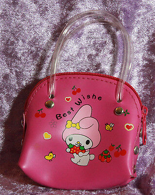 1//3 1//4 scale BJD Dollfie My Melody Purse Pink Bag Sack Doll Satchel Tote NEW