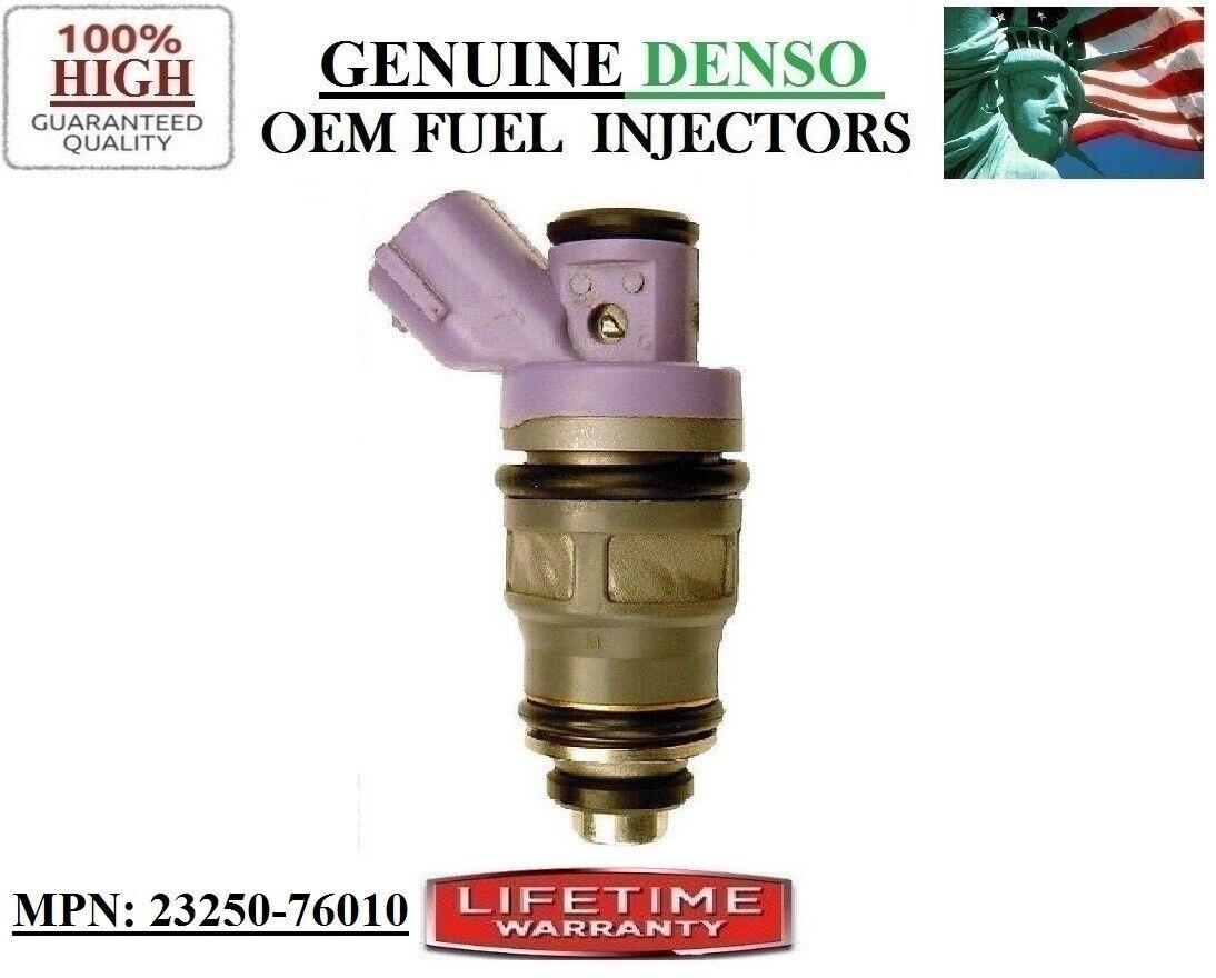 4x Fuel Injectors For Denso 1991-1995 Toyota Previa 2.4L I4 23250-76010