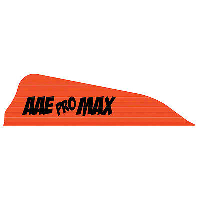 """Color Choices EP26 AAE 2.6/"""" Vanes 50 Pack NASP Arrow Fletching"""