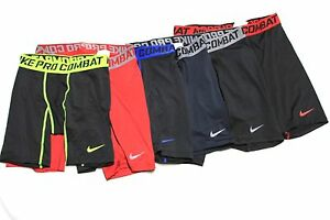 Mens Nike Pro Combat Dri Fit Compression Shorts Boxer Briefs 519977 ... f0a1b2148070