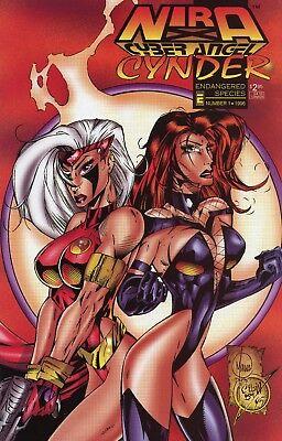 Collectibles Selfless Nira X Cyberangel Cynder Endangered Species #1 Nm 9.4 Entity 1996 See My Store Modern Design Comics