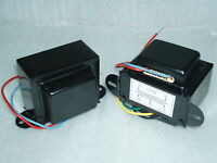 3.5K SE AUDIO OUTPUT TRANSFORMERS (pair) FOR EL34, 6L6GC..BLACK COVER