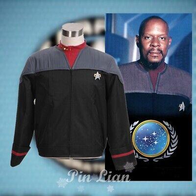 Star Trek Nemesis Voyager Sisko Uniform Jacke Outfit Fasching Cosplay Kostüm