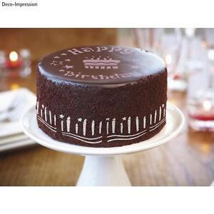 Deko Schablonen Backen Baby Kuchen Torte Happy Birthday