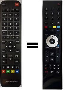 Telecomando gia' programmato per TV GRUNDIG VLE