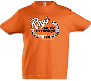 Ray-039-s-Music-Exchange-Kinder-Jungen-T-Shirt-Blues-Logo-Musikgeschaeft-Brothers