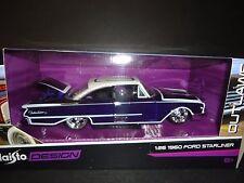 Maisto Ford Starliner 1960 Purple 1/26 Design