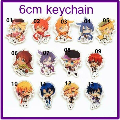 UTA NO PRINCE SAMA Keychain Porte-clés sangle Nanami Haruka Shinomiya Natsuki Q Ver.