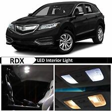 14x White LED Lights Interior Package Kit for 2013-2016 Acura RDX
