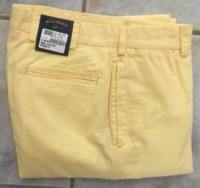 BRAND NEW-Bills khakis M3-SOPB Size 36X32 Trim Fit POPLIN SUMMER OLIVE $165