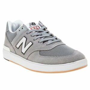 Prohibir Relajante seguridad  New MENS NEW BALANCE GRAY 574 SUEDE Sneakers Retro | eBay