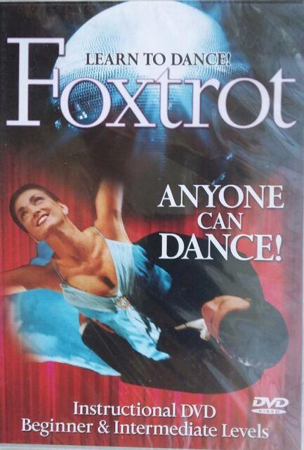DVD Learn to Dance Foxtrot-Beginner&Intermediate Level [NEW & SEALED]