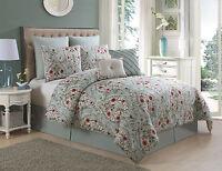 VCNY Home Evangeline 8-piece Floral Comforter Set - Assorted Colors & Sizes