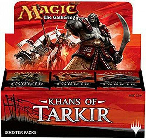 Magic The Gathering Gathering Gathering Khans of Tarkir case 36 Booster Packs 0632f2