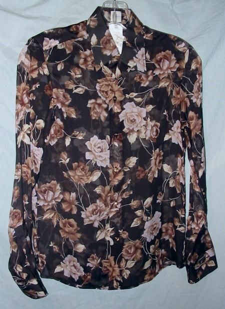 CRAIG TAYLOR SILK ROMANTIC ANTIC BLOUSE SZ XS NWTG  225