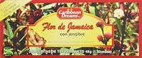 Caribbean Dreams Sorrel & Ginger Tea, 24 Tea Bags, New, Free Shipping on sale