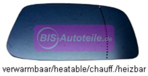 CITROEN C8 AB 06//2002-1X KLEBE ERSATZSPIEGELGLAS SPIEGEL ASPHÄRISCH RECHTS