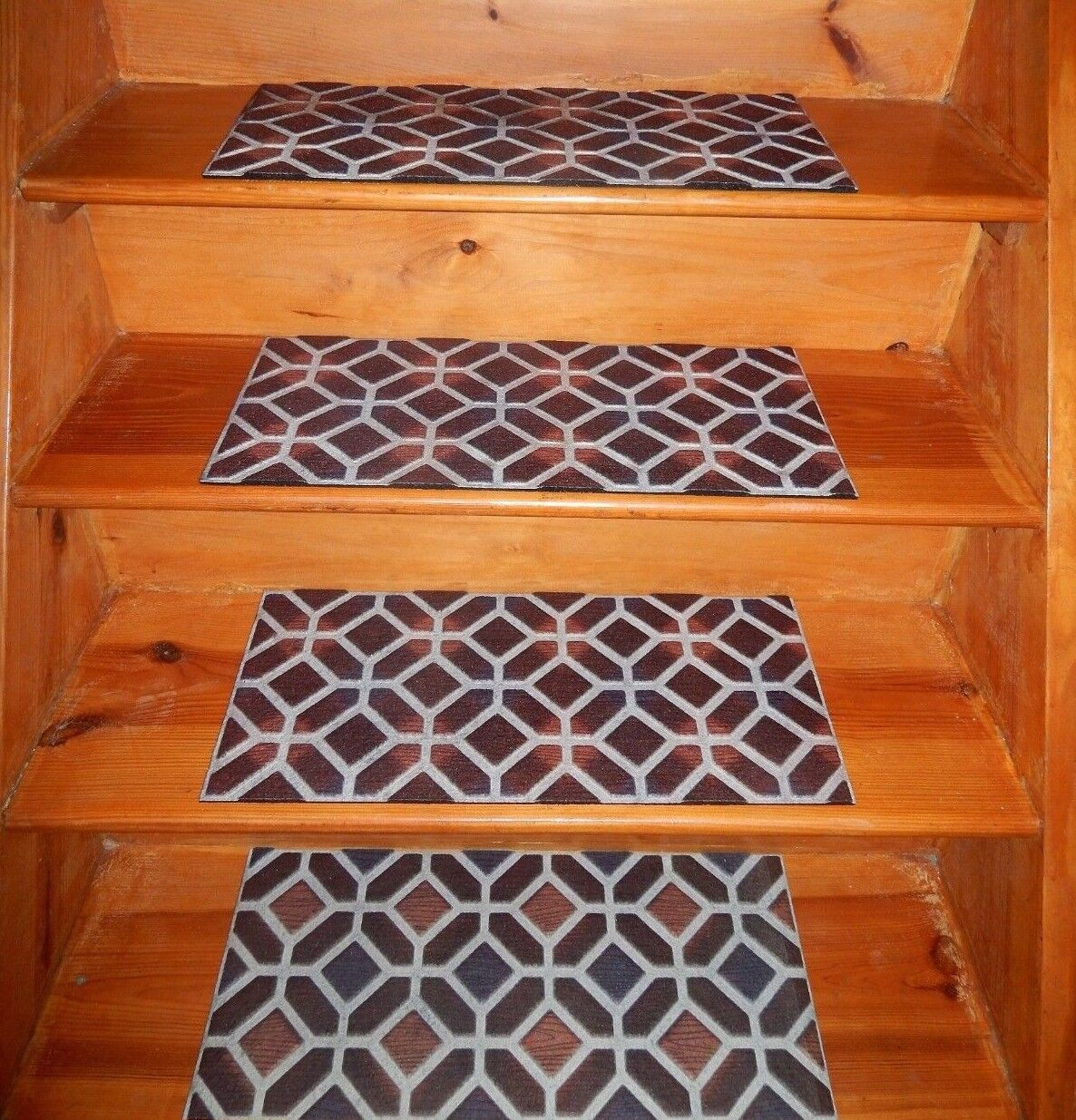 4 Step 10 X 24 100 Rubber Outdoor Stair Treads For Sale Online