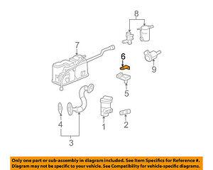 OEM Front Bumper Ambient Air Temperature Sensor Bracket 07-17 GM 15880714