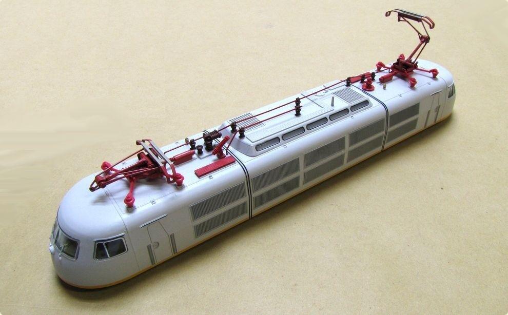 Reemplazo de Cochecasa opaca lufthansa Express para Fleischmann e-Lok br 103.1 h0 nuevo