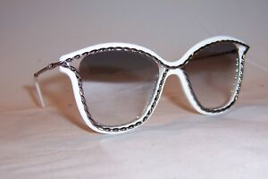 NEW MARC JACOBS SUNGLASSES MARC 160 S VK6-IC WHITE SILVER MIRROR ... f4b5e72d58