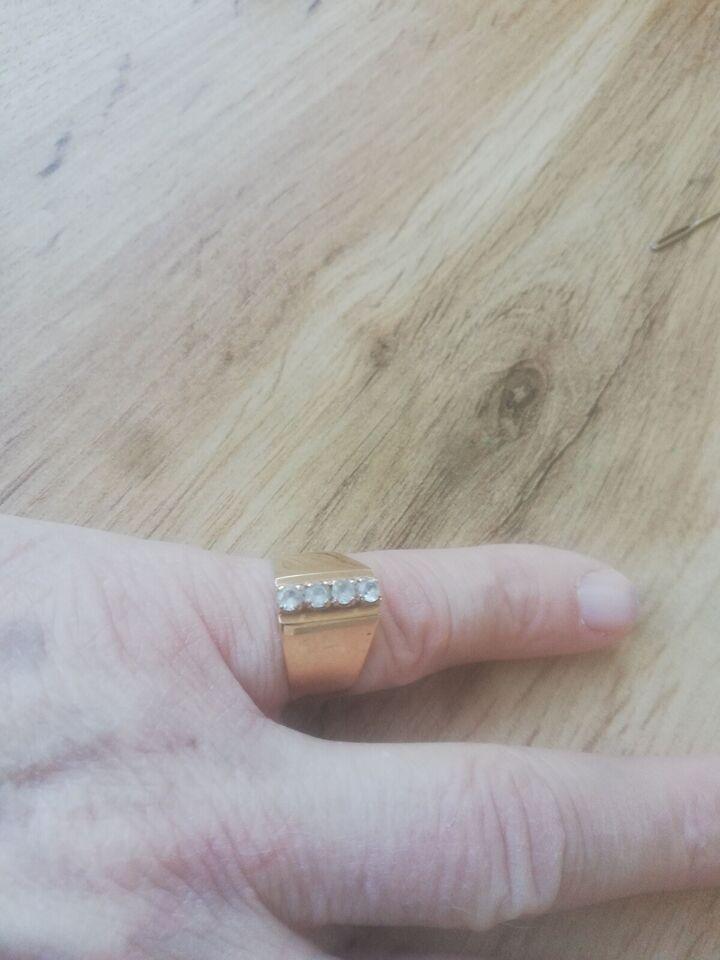 Fingerring, guld