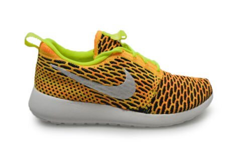 Jaune One Roshe Femmes Flyknit Nike 704927702 Baskets Noir Orange FPwffqY75x
