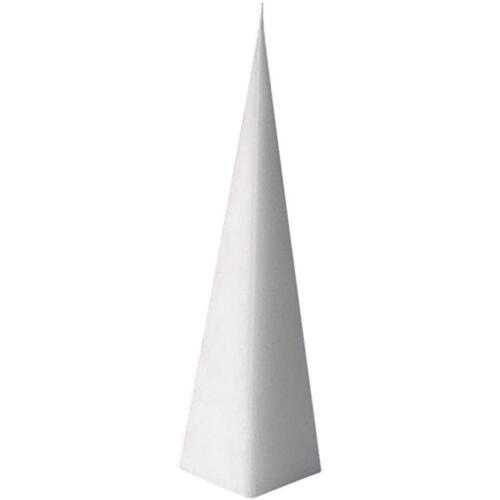 Bougie Moule Pyramide en forme de Plastique Transparent outil Noël Crafts 228x60 mm